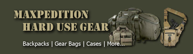 Maxpedition Hard Use Gear