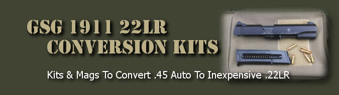 GSG 1911 22LR Pistol Magazines, Parts, and Accessories